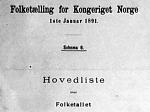 Folketelling 1891